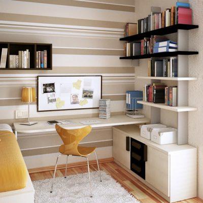 Kitaplık-Çalışma Masası 06